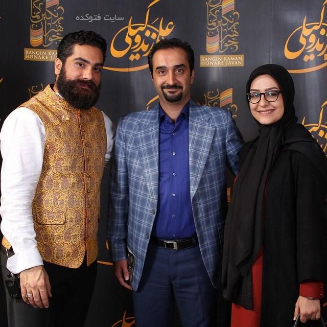 عکس زینب زارع و همسرش نیما کرمی + علی زندوکیلی + بیوگرافی ها