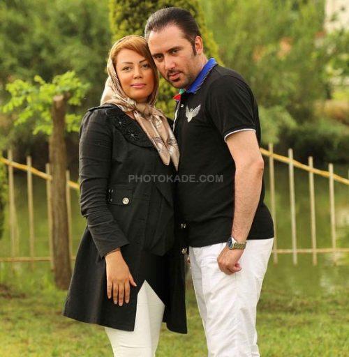 عکس نیما مسیحا و همسرش مریم