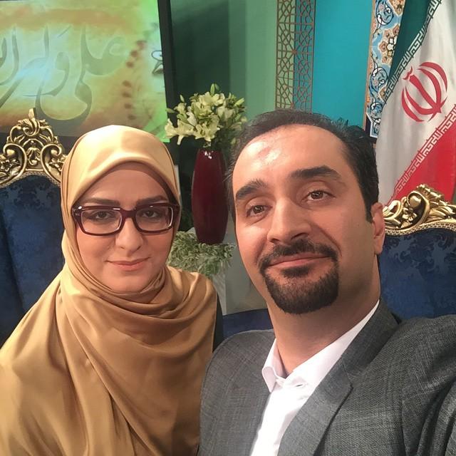 تصاویر نیما کرمی و همسرش زینب زارع + زندگینامه کامل