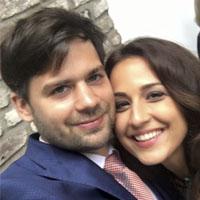 بیوگرافی نینا مقدم مجری ایرانی شبکه آلمانی و همسرش + عکس