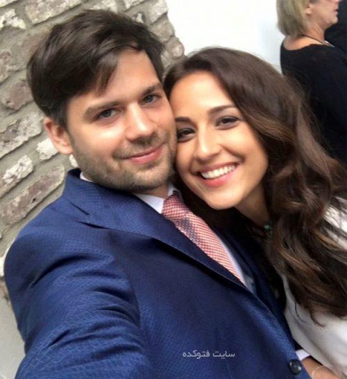 همسر نینا مقدم خبرنگار و مجری ایرانی