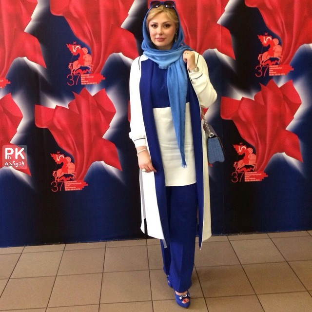 عکس های نیوشا ضیغمی در مسکو با همسرش,عکس های خفن نیوشا ضیغمی و همسرش در جشنواره مسکو,عکس های خفن و جذاب بازیکر زن نیوشا ضیغمی در خارج از کشور,فستیوال مسکو