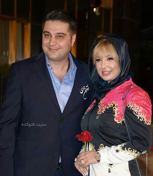 عکس نیوشا ضیغمی و همسرش آرش پولادخان
