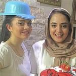 عکس تولد بازیگر زن نرگس محمدی