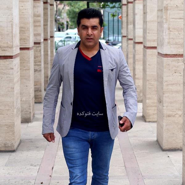 عکس سيروس حسينى فر (هيوا) در بیوگرافی بازیگران سریال نون خ 3