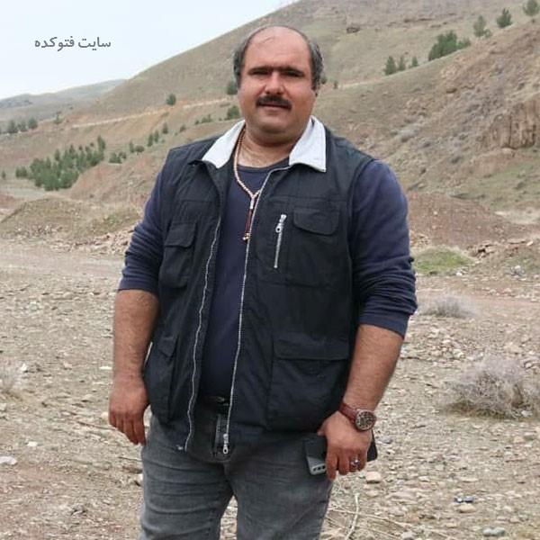 عکس کاظم نوربخش (سلمان) در اسامی بازیگران سریال نون خ 3