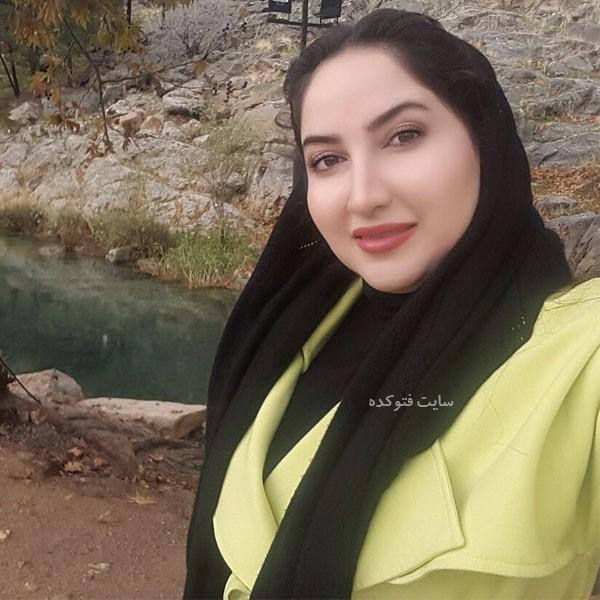 عکس نارین ایوبی (همسر وحید) در اسامی بازیگران سریال نون خ 3