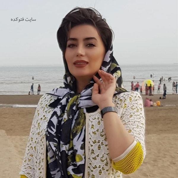 عکس هدیه بازوند (روژان) در بازیگران سریال نون خ ۳
