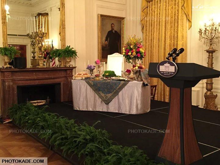 عکس های جشن نوروز در کاخ سفید,عکس جشن عید نوروز 94 در آمریکا,عکسهای تبریک نوروز از میشل اوباما,تصاویر جشن نوروز در کاخ سفید آمریکا,برگزاری نوروز در کاخ سفید