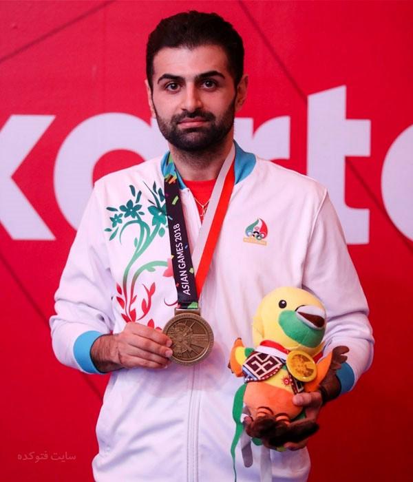 عکس های نوشاد عالمیان قهرمان تنیس روی میز ایران