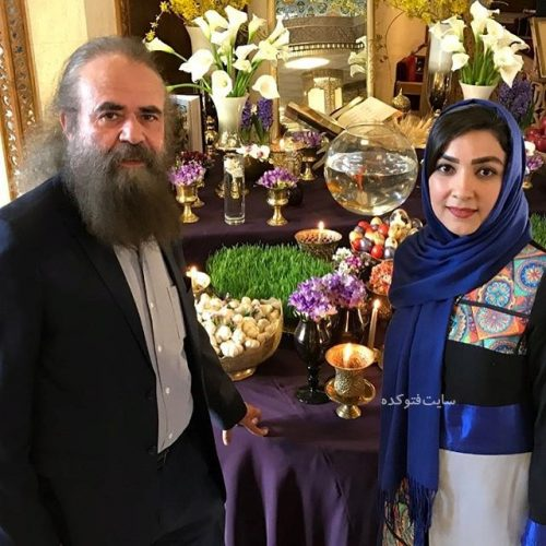 عکس سارا صوفیانی و همسرش امیرحسین شریفی در عید نوروز 96