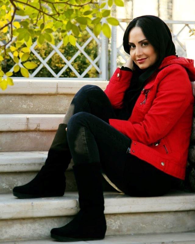 عکس مریم خدارحمی زمستان 96