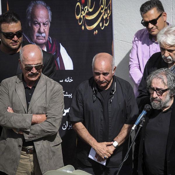 تشییع ناصر ملک مطیعی + حاشیه ها