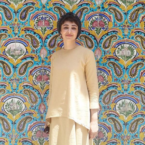 عکس های مدل آرایش بازیگران زن خرداد 98 خانم ویدا جوان