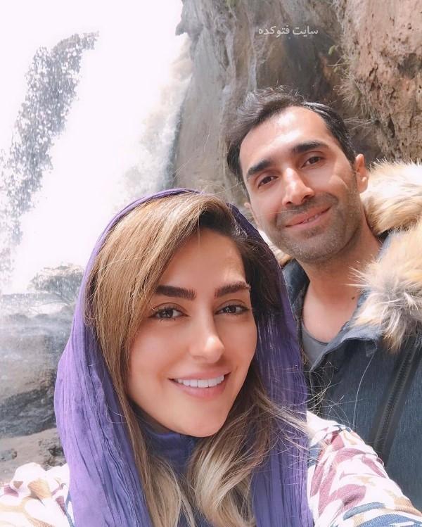 هادی کاظمی و همسرش در عکس های هنرمندان خرداد 98