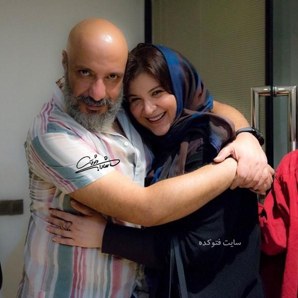 عکس و بیوگرافی ریما رامین فر و همسرش