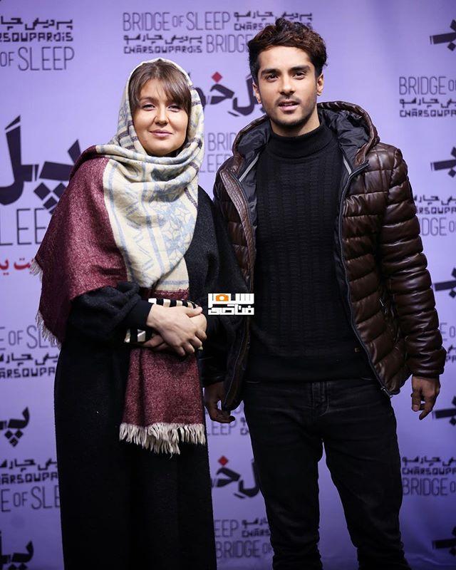 عکس ساعد سهیلی و همسرش گلوریا بهمن 96
