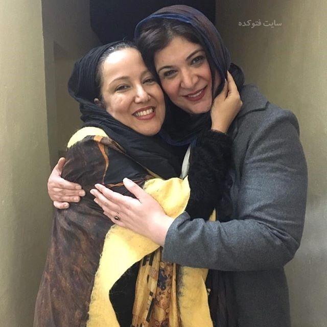 عکس ریما رامین فر و پانته آ بهرام بهمن 96