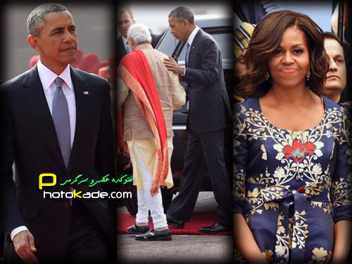 عکس های باراک اوباما و همسرش در هند,عکس باراک اوباما و میشل اوباما در کشور هندوستان,عکسهای اوباما در هند,اوبا,تصاویر اوباما و همسرش در هند,عکس جدید اوباما