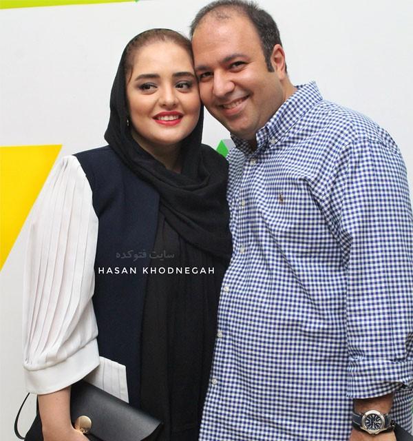عکس ali oji و نرگس محمدی + زندگی شخصی هنری