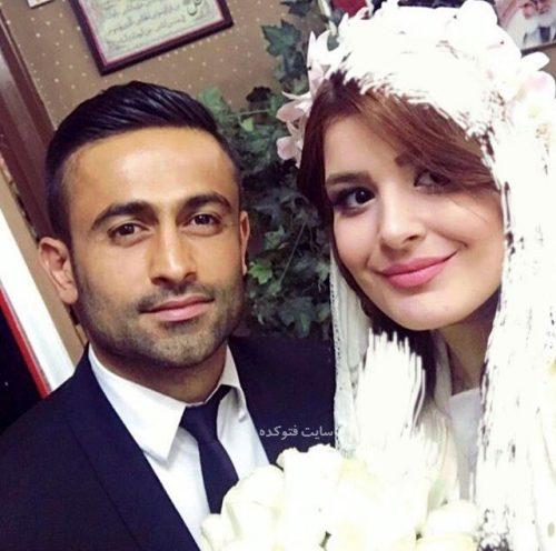 عکس امید ایراهیمی و همسرش نگین شفیع زاده + بیوگرافی کامل