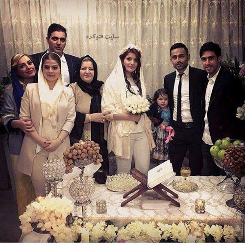 عکس مراسم ازدواج امید ابراهیمی + بیوگرافی