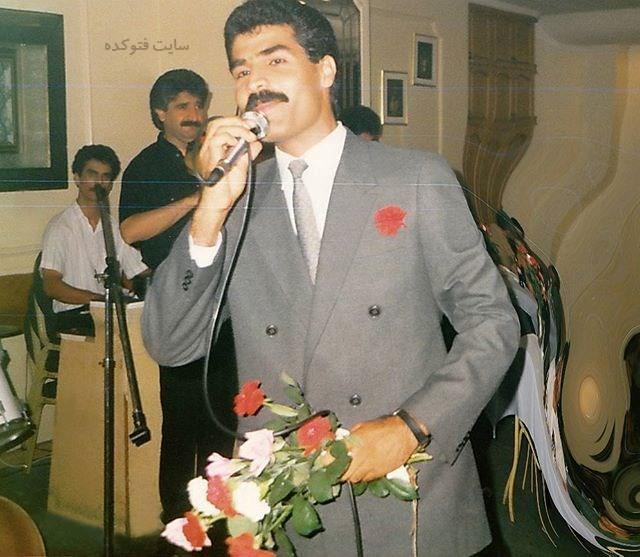 عکس قدیمی امید سلطانی خواننده لس آنجلسی
