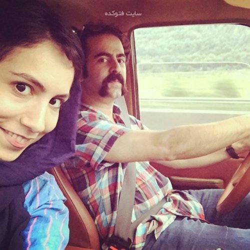عکس امید نعمتی و همسرش شقایق صادقیان