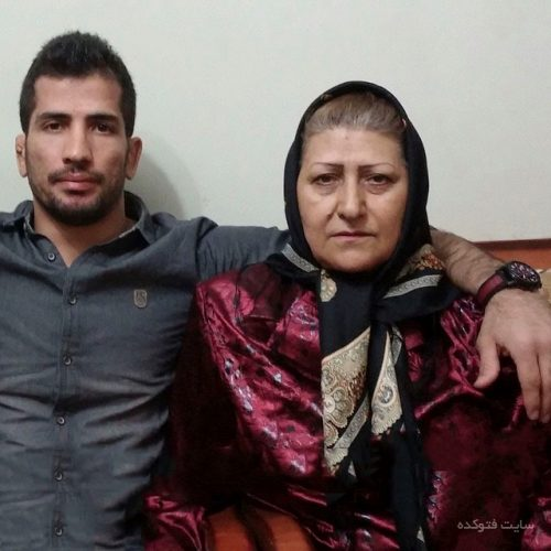 عکس امید نوروزی و مادرش + بیوگرافی