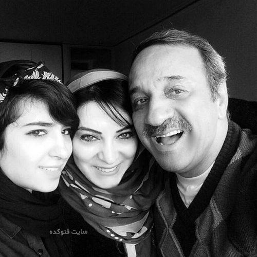 عکس علی اوسیوند و همسرش حمیرا ریاضی و دخترش یاسمین عکس حمیرا ریاضی و همسرش علی اوسیوند + دخترش یاسمین