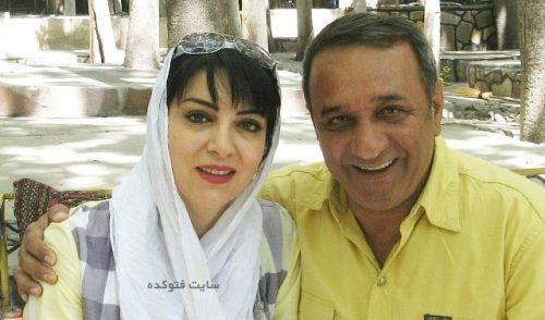 بیوگرافی حمیرا ریاضی و همسرش علی اوسیوند
