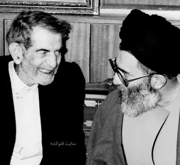 محمدحسین بهجت تبریزی و خامنه ای رهبر