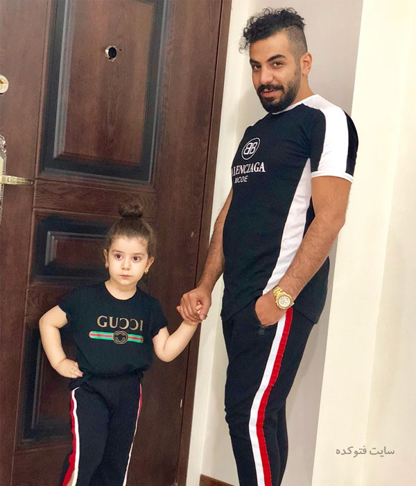 عکس پانیذ اسماعیلی و پدرش + داستان زندگی شخصی