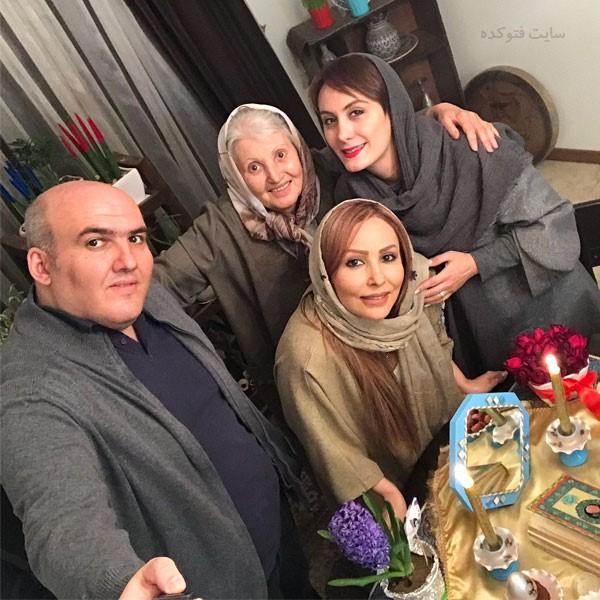 پرستو صالحی در کنار خانواده اش + بیوگرافی کامل