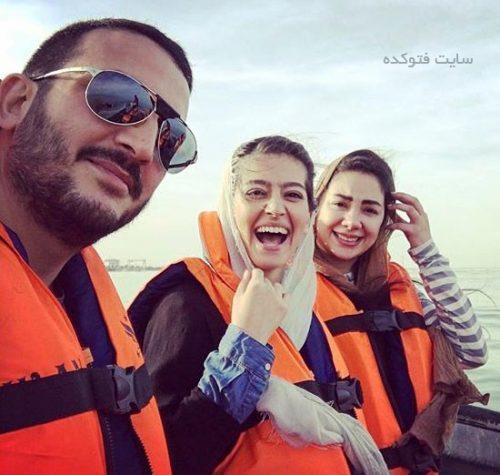 عکس پردیس احمدیه و خوش گذرانی با دوستان