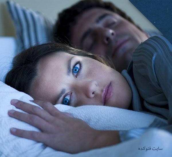 پرش اندام در خواب نشانه چیست