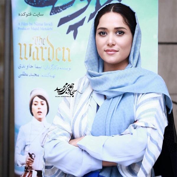 عکس و زندگینامه پریناز ایزدیار بازیگر زن ایرانی با ماجرای ازدواج