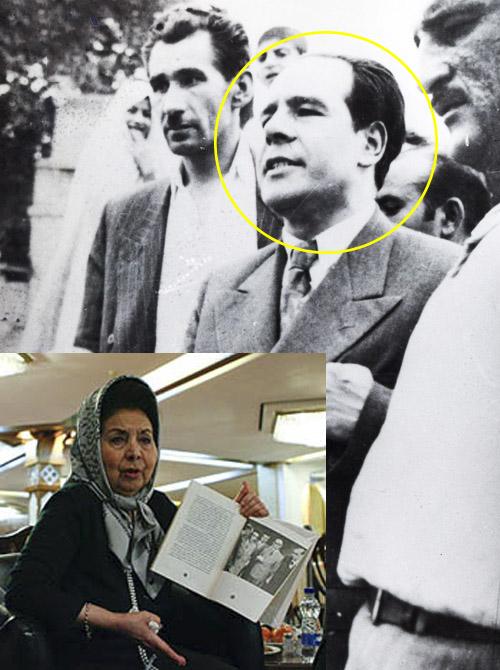 عکس پریوش سطوتی و همسرش دکتر فاطمی