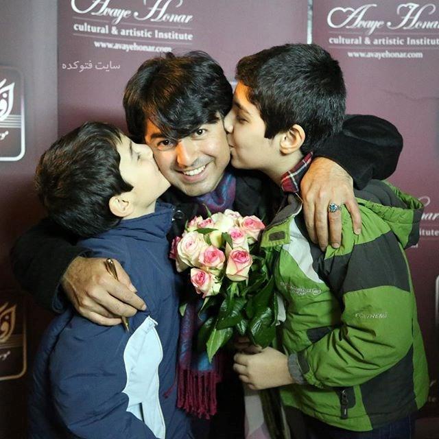 عکس پرواز همای و فرزندانش شهریار و مهریار + زندگینامه هنری