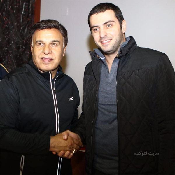عکس های پرویز مظلومی و علی ضیا + بیوگرافی