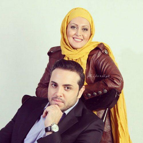 عکس پدرام کریمی و همسرش یامسن شاه حسینی