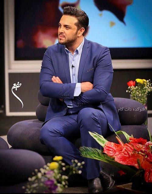 عکس پدرام کریمی مجری و بازیگر + زندگینامه کامل خصوصی