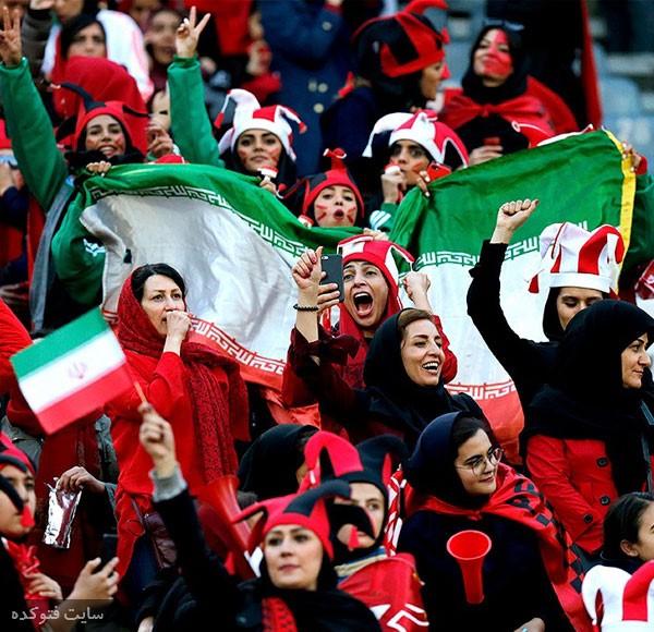 تصاویر تماشگر پرسپولیس و کاشیما در آزادی