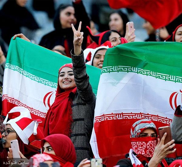 عکس تماشاگران بازی پرسپولیس و کاشیما در آزادی