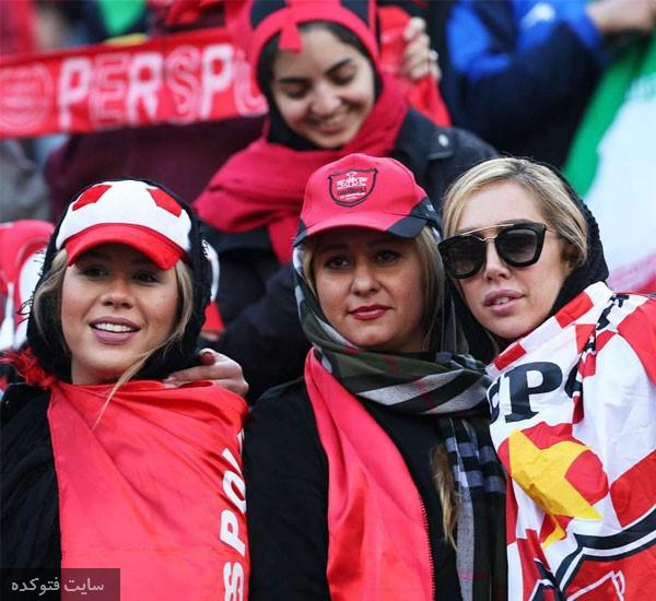 عکس تماشاگران بازی پرسپولیس و کاشیما در ورزشگاه آزادی