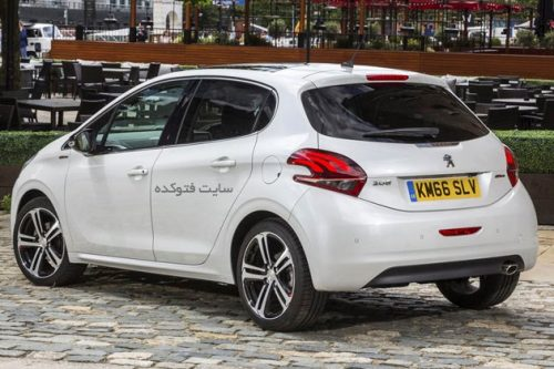 قیمت پژو 208 ایران خودرو