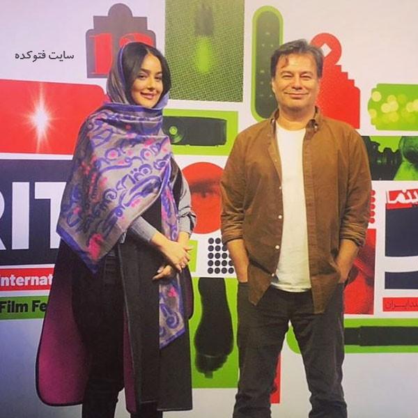 عکس پیمان قاسم خانی و همسر دومش میترا ابراهیمی
