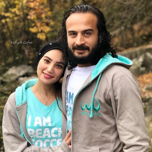 سید پیمان حسینی و همسرش + بیوگرافی