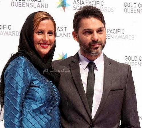 عکس پیمان معادی و همسرش فرانگ قوانلو + بیوگرافی