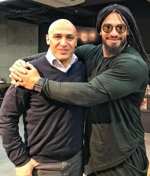 Peyman Rajabi در کنار علی منصوریان